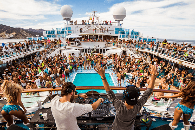 Pool party em Miami Beach e na Flórida