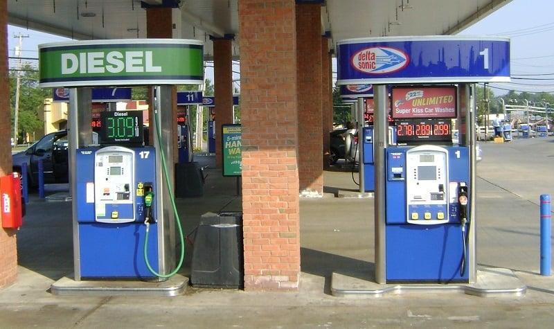 Postos de gasolina nos Estados Unidos
