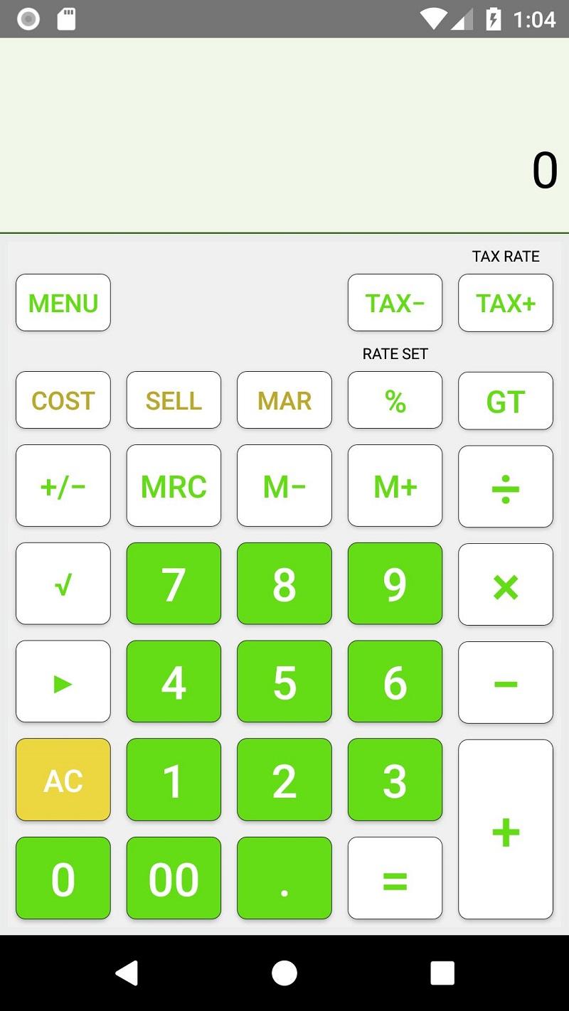App Calculadora em Miami