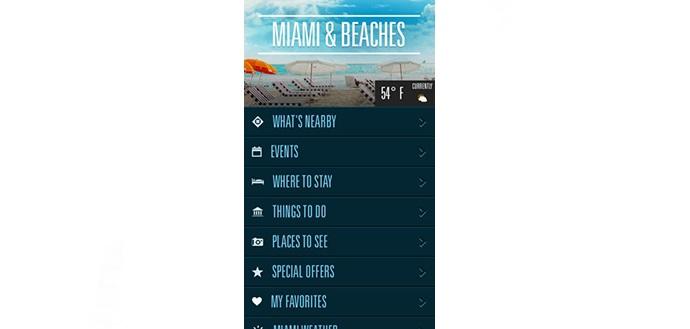 App Miami and Beachesem Miami