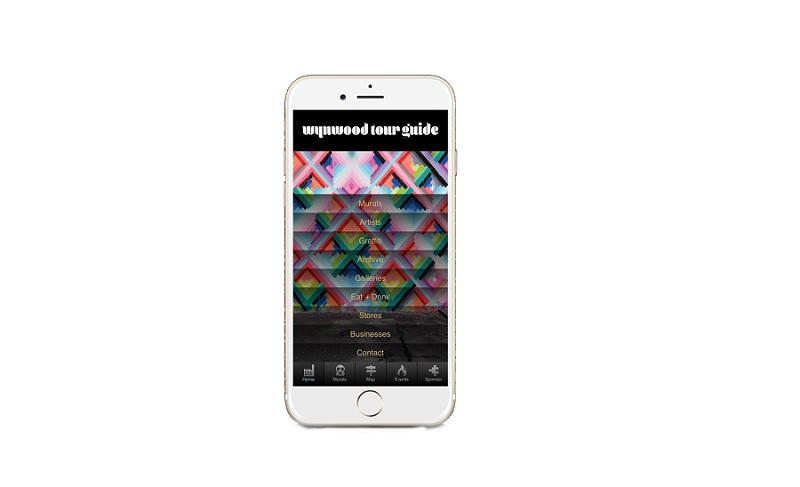 App Wynwood Tour Guide em Miami