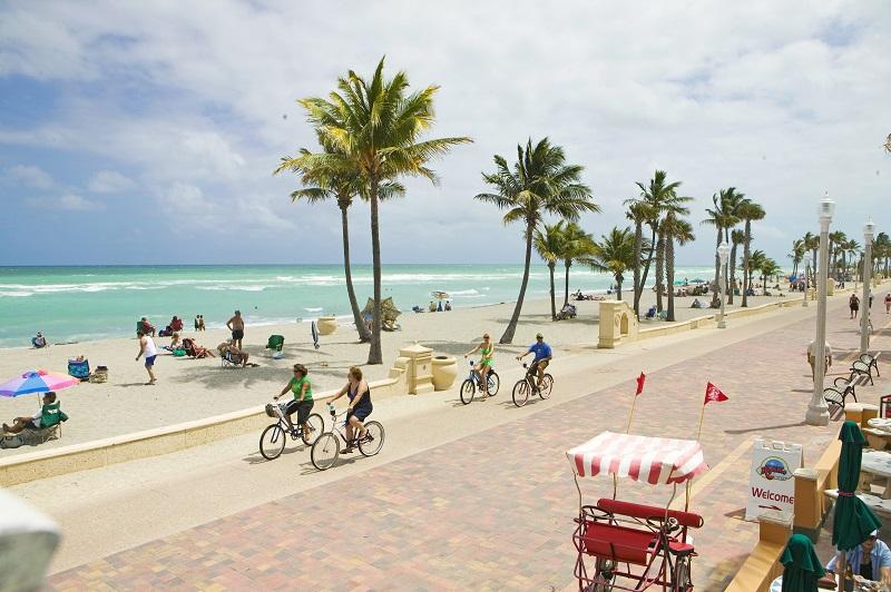 Roteiro de 5 dias em Miami: Hollywood Beach