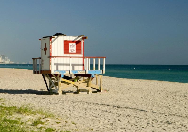 Casa do salva-vidas em Surfside Beach
