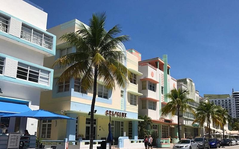 Deco District em Miami