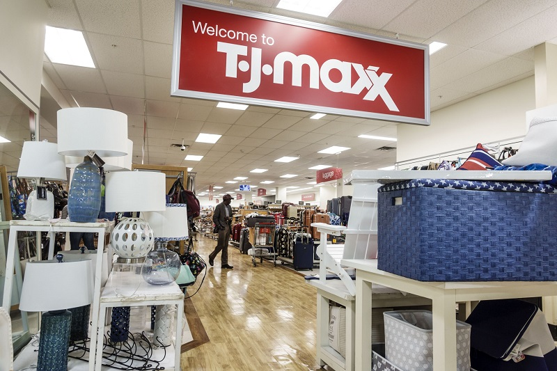 Compras nas lojas de departamento T.J.Maxx em Miami