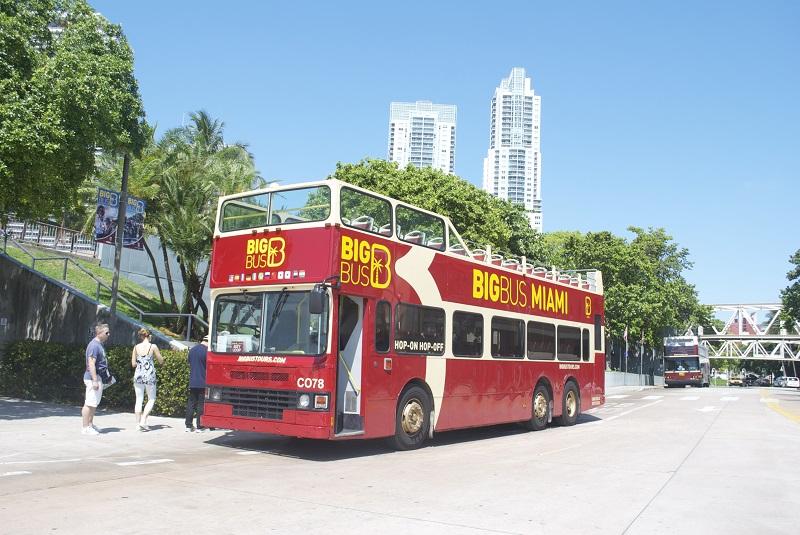 Passeio de ônibus Hop on Hop Off em Miami